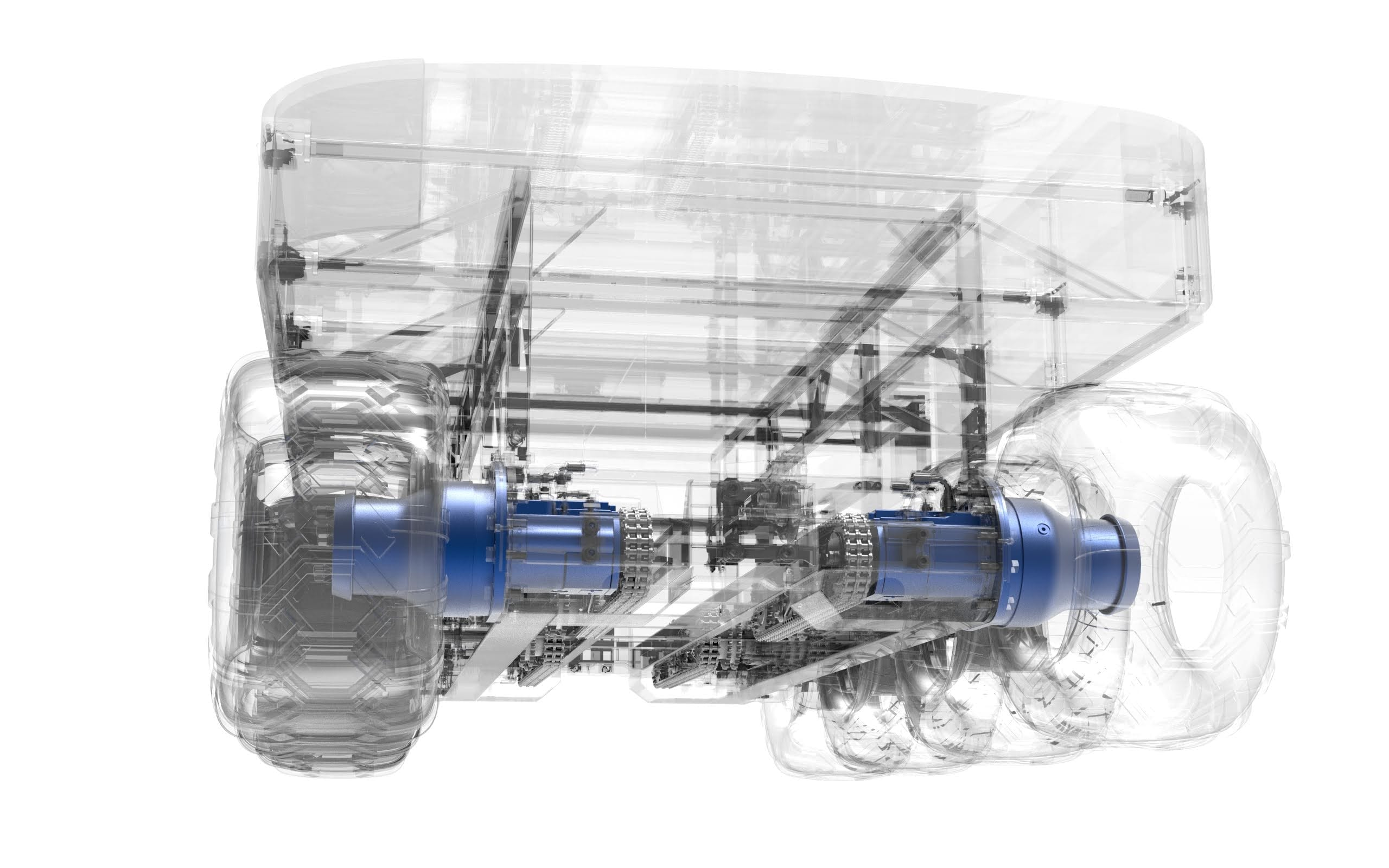 Hydarulic motor for all-terrain vehicle